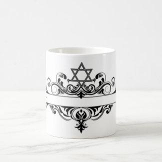 Jefe judío del vintage taza
