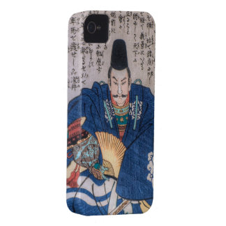 Jefe militar del samurai iPhone 4 Case-Mate coberturas