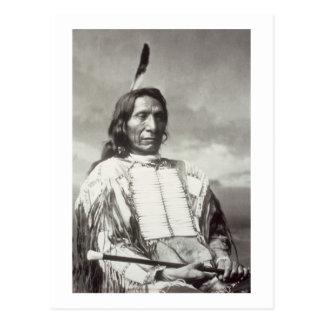 Jefe rojo de la nube (1822-1909) 1880 (foto de postal