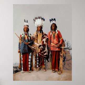 Jefes de Apache Póster