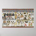 Jefes de Nubian que traen presentes Impresiones