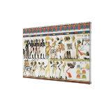 Jefes de Nubian que traen presentes Impresión En Lona Estirada