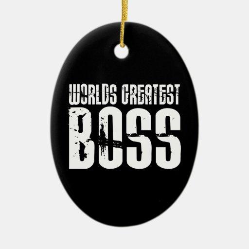 Jefes divertidos del humor de la oficina: Boss más Ornamento De Navidad