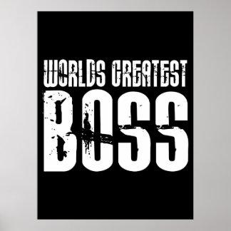 Jefes divertidos del humor de la oficina: Boss más Póster