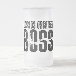 Jefes divertidos del humor de la oficina: Boss más Tazas