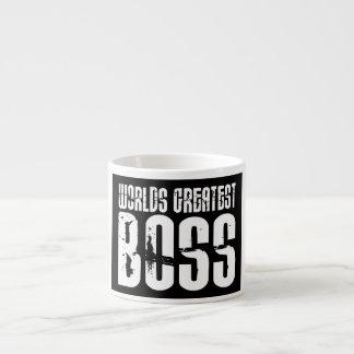 Jefes divertidos del humor de la oficina: Boss más Tazita Espresso