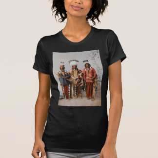 Jefes Garfield Ouche Te Foya 1899 de Apache Camiseta