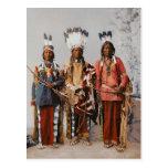 Jefes Garfield Ouche Te Foya 1899 de Apache Postales