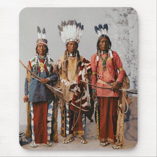 Jefes Garfield Ouche Te Foya 1899 de Apache Tapete De Ratón