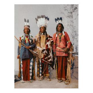 Jefes Garfield Ouche Te Foya 1899 de Apache Postal