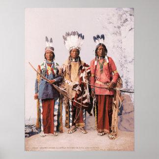 Jefes Garfield, Ouche-te Foya y Sanches. de Apache Póster
