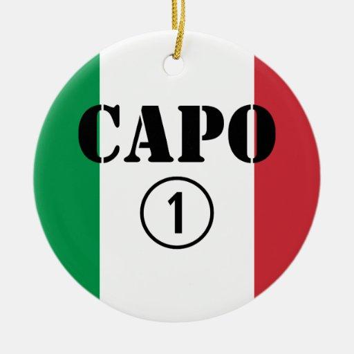 Jefes italianos: Uno de Numero de la ceja Adorno