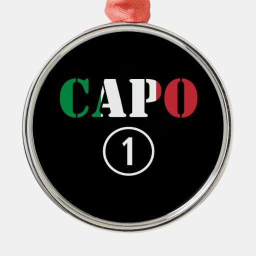 Jefes italianos: Uno de Numero de la ceja Ornato