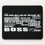 Jefes modernos frescos de la diversión: Boss más g Alfombrillas De Ratón