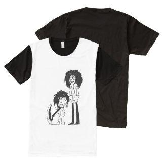 Jeff and Smile All-Over-Print Shirt