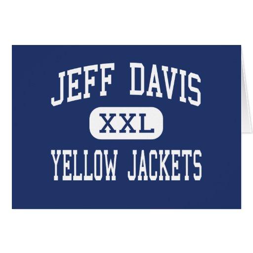 Jeff Davis - chaquetas amarillas - alto - Hazelhur Tarjeta