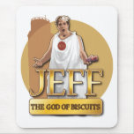 Jeff - dios de galletas alfombrillas de ratones