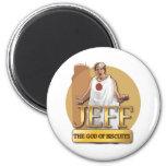 Jeff - dios de galletas imán para frigorífico