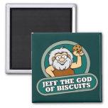 Jeff dios del imán de las galletas
