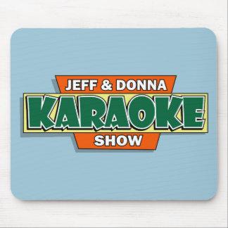 Jeff & Donna Karaoke Mouse Pad