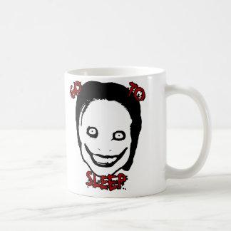 Jeff el asesino taza de café