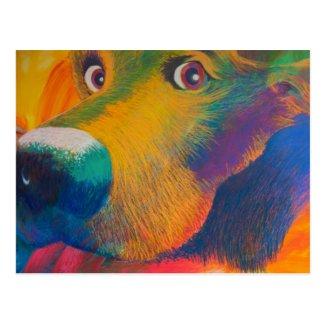 Jeff Leedy | I Brake For Cookie Postcard