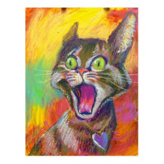 Jeff Leedy | Screecher Postcard