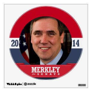 JEFF MERKLEY CAMPAIGN WALL SKIN