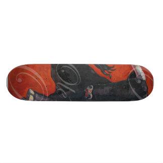 "Jeff Oehmen  ""Bull"" Skateboard"