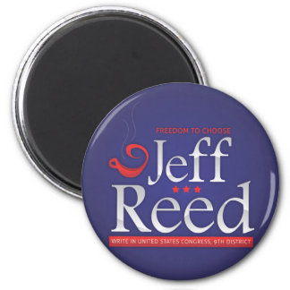 Jeff Reed for Congress 2 Inch Round Magnet