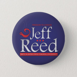 Jeff Reed for Congress Pinback Button