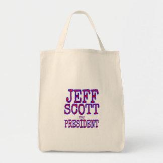 Jeff Scott para el bolso de Prez Bolsa Tela Para La Compra