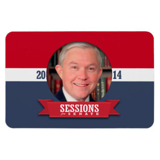 JEFF SESSIONS CAMPAIGN RECTANGLE MAGNET