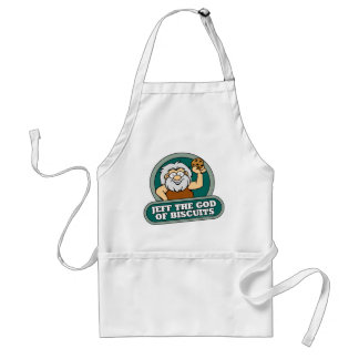 Jeff the God of Biscuits Apron