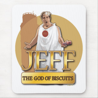 Jeff - The God of Biscuits Mouse Pad