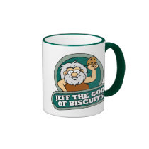 Jeff the God of Biscuits Mug
