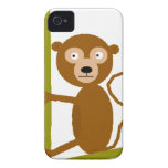 Jeff the Monkey iPhone 4 Case-Mate Cases