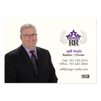 Jeff Wahl Tarjetas De Visita Grandes
