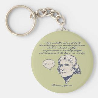 Jefferson1-LTT Basic Round Button Keychain