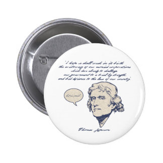 Jefferson1-LTT Pin Redondo De 2 Pulgadas
