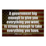 Jefferson: A government big enough... Poster