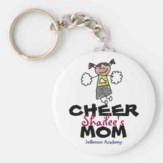 Jefferson Academy Cheer MOM keychain