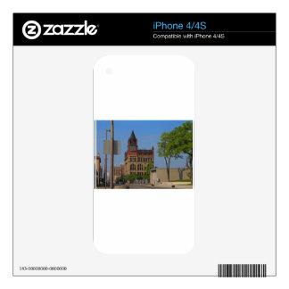 Jefferson and Ontario- horizontal iPhone 4S Decals