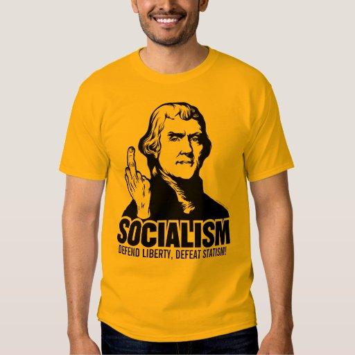 Jefferson Anti-Socialism Customizable T-Shirt