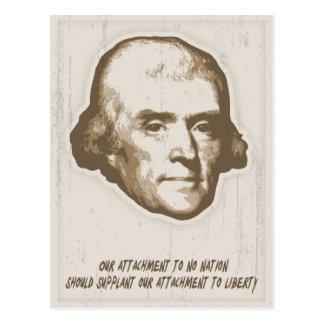 Jefferson - Attachments Postcard