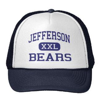 Jefferson - Bears - High School - Monroe Michigan Trucker Hat