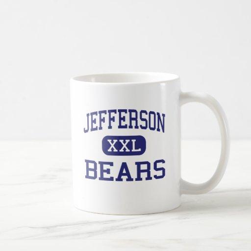 Jefferson - Bears - High School - Monroe Michigan Classic White Coffee Mug