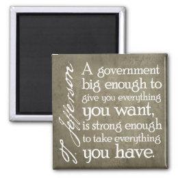 JEFFERSON: Beware of Big Government Magnet