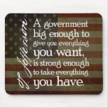 Jefferson: Beware of Big Government Mouse Pad