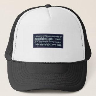 JEFFERSON-BIG-GOVERNMENT TRUCKER HAT